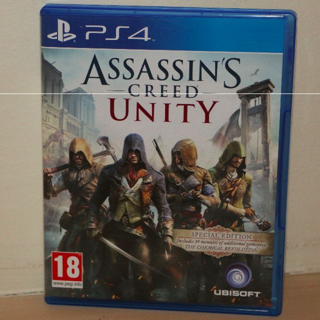 PS4 Game: Assassins Creed Unity