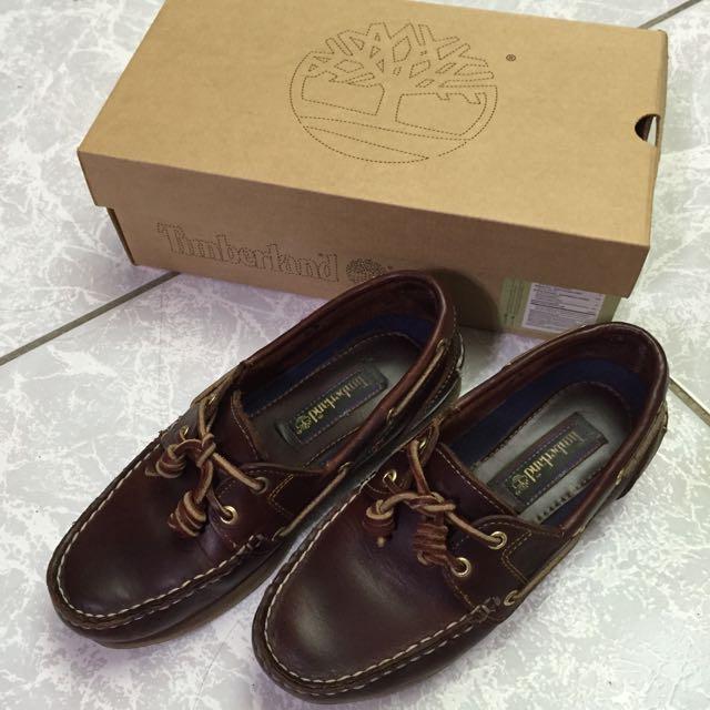 Timberland 帆船鞋 摩曼頓購入