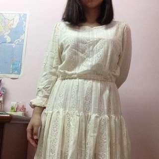 全新 韓貨蕾絲洋裝