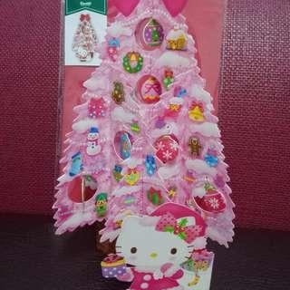Kitty立體聖誕卡,運費$30