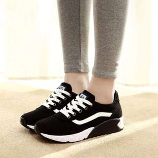 韓版厚底休閒鞋-內增高