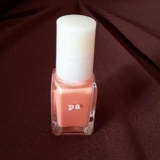 (二手)橘色指甲油 & 透明指甲油