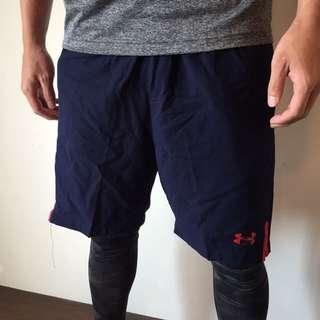 UA運動短褲(紅)