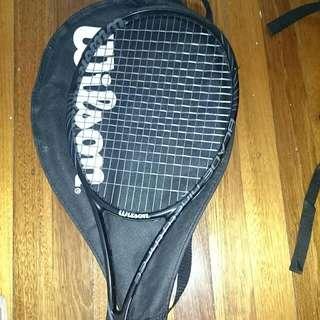 Wilson Blade 93 BLX Tennis Racquet Size 4 3/8 Lexilon String
