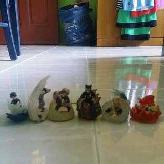 Naruto Figurines