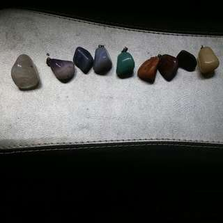 Variety Of Colourful Stones