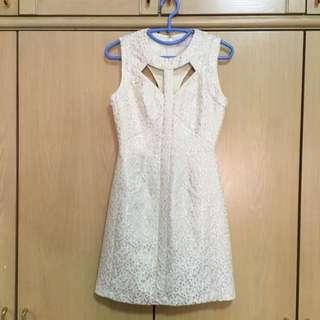 Love, Bonito Ivory Dress