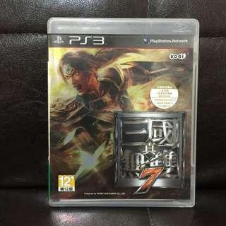PS3 真 三國無雙 7 中文版