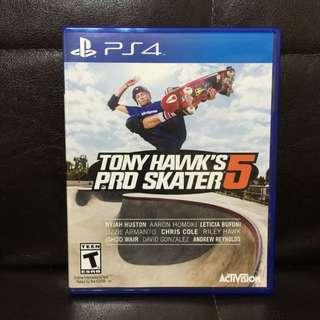 PS4 東尼霍克滑板 5 TONY HAWK'S PRO SKATEBOARD 5