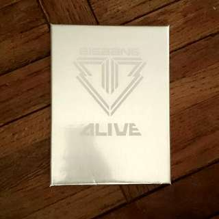 Bigbang 明信片卡 附盒子