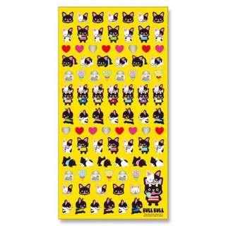 日本貼紙 俏皮狗狗