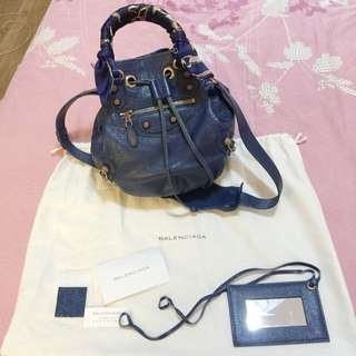 *Reduced* Mini Pompon Balenciaga With Rose Gold Details