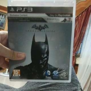 Selling  Batman Origins => $10/- Nier => $10/-(sold) Medal Of Honor War fighter => $10/-