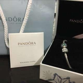 潘朵拉Pandora手鍊串珠正品