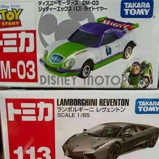 TOMICA DM03 警車 巴斯 玩具總動園