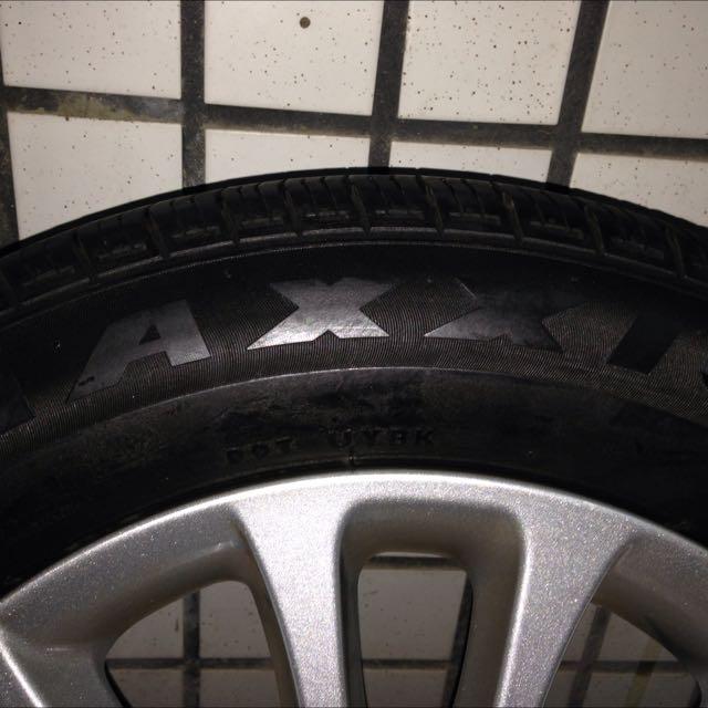 205/60/R16 MAXXIS MA651輪胎皮 8成新