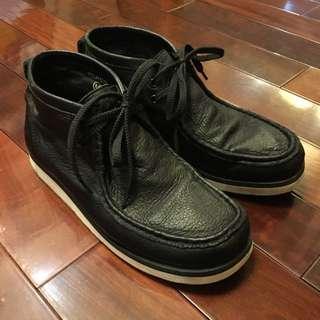 Sktp 真皮袋鼠鞋 帆船鞋皮鞋