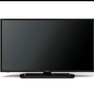 """New Full HD 40"""" Sharp LED TV Digital Ready. Not SMART TV (Mint Condition with Warranty & In Box)"""