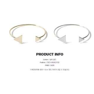韓系🎀三角百搭手環