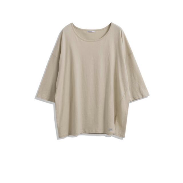 開衩造型寬版棉質上衣