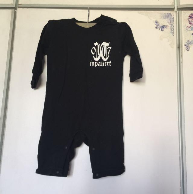 日本潮牌嬰兒包屁衣