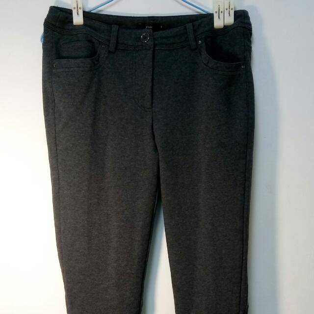 瓊安專櫃彈性長褲