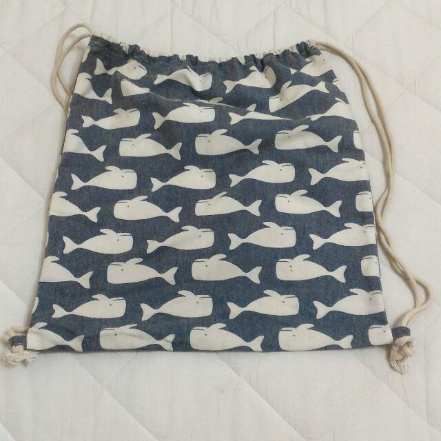 海豚束口袋