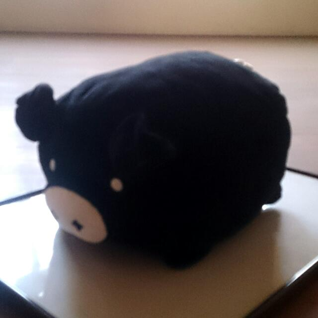 黑白豬 玩偶