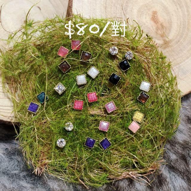 韓國飾品 貼耳簡約耳環
