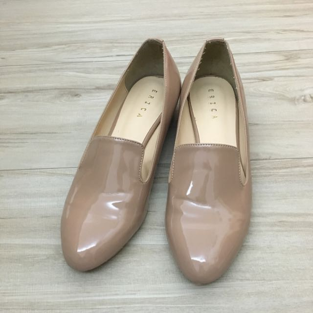 正韓 ERICA 金屬低跟鞋 24.5