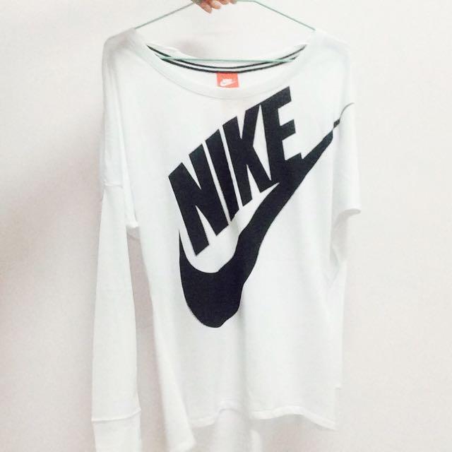 降💥含運 Nike 字樣長袖上衣