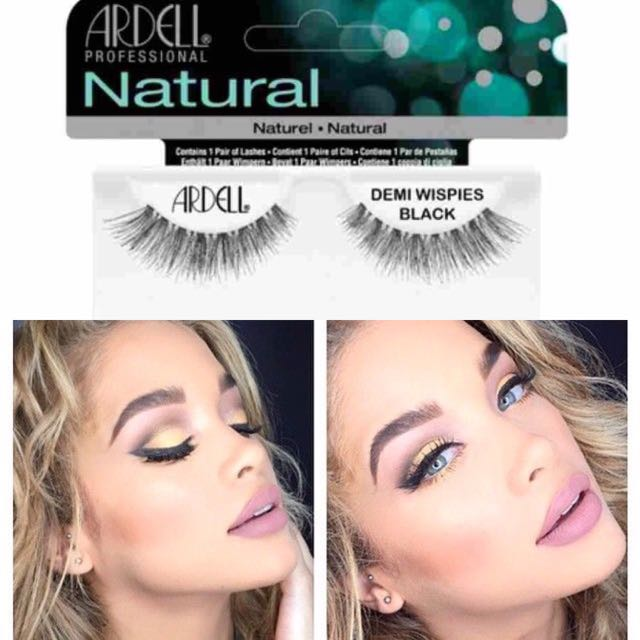 d8809dbb5b7 Ardell Lashes Demi Wispies (Black), Health & Beauty on Carousell