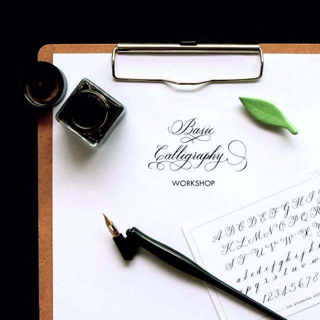 Basic Calligraphy Workshop (23 Jan)
