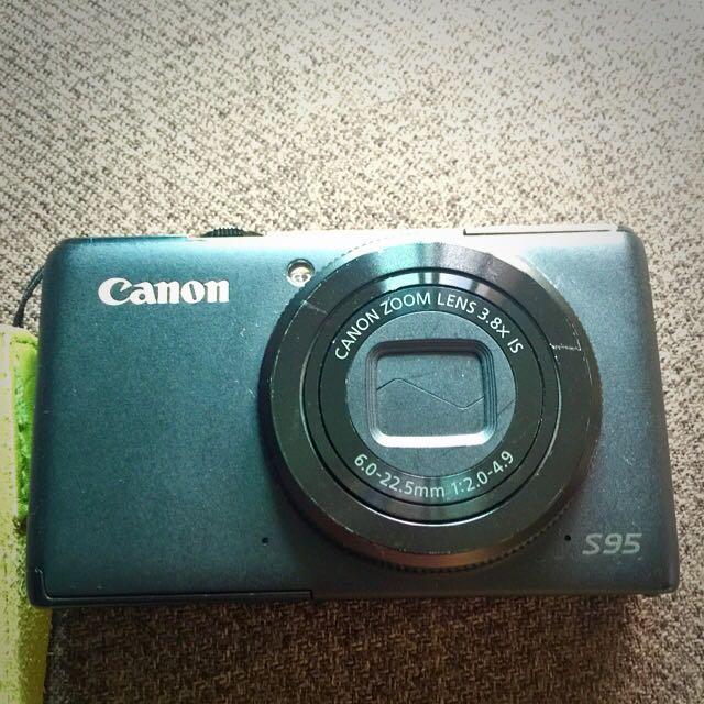Canon S95 類單眼