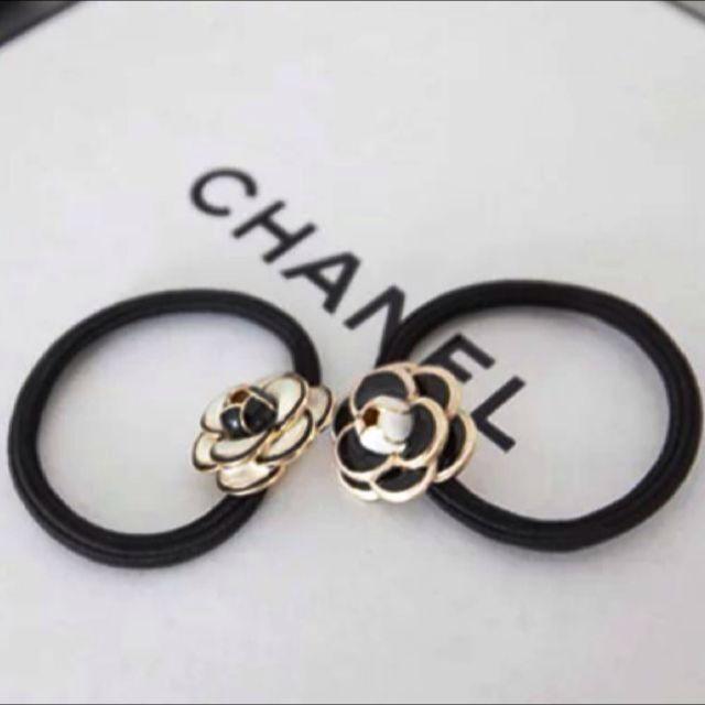 Chanel山茶花髮飾