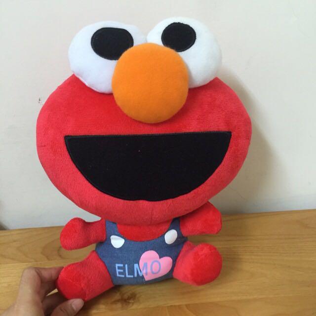 Elmo 12吋布偶