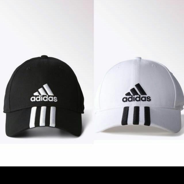 b2fb89056a4 ... singapore d4a22 436ed  greece instock bnwt black adidas cap womens  fashion on carousell 1f525 7173f