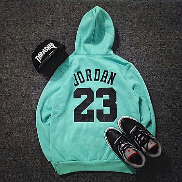 (含運)Jordan 湖水綠 帽T