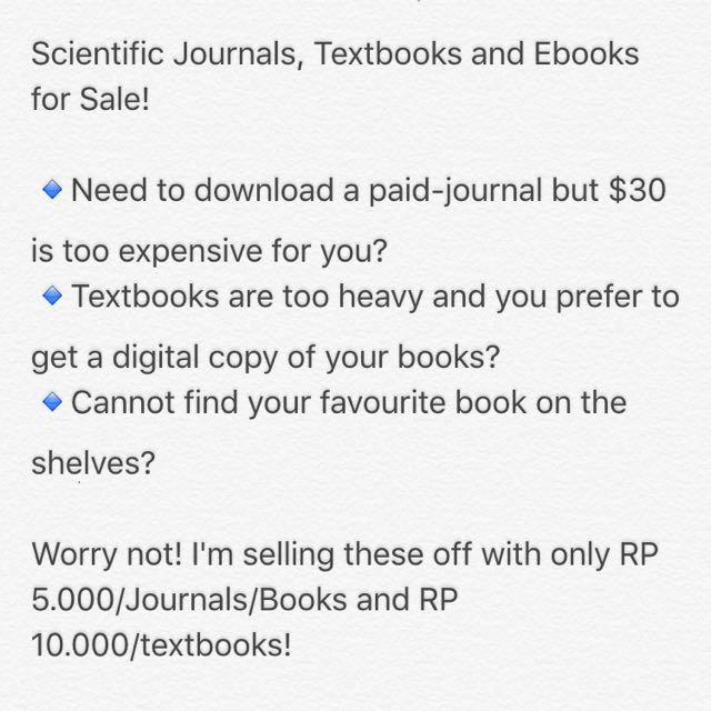 Journals/Ebook