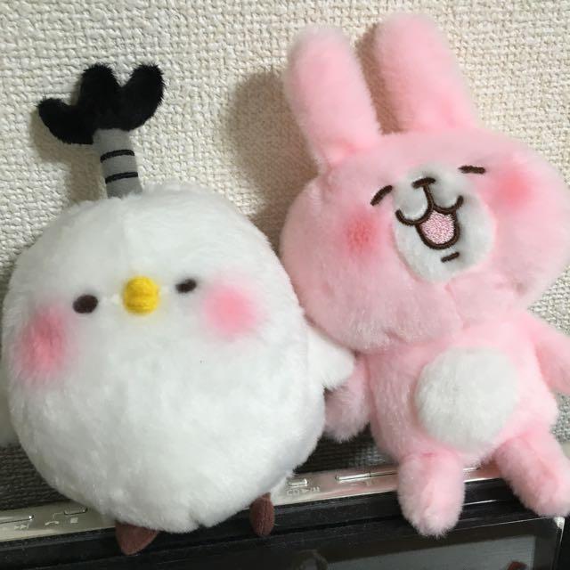 Kanahei 兔兔 P助 S號 絨毛娃娃 LINE