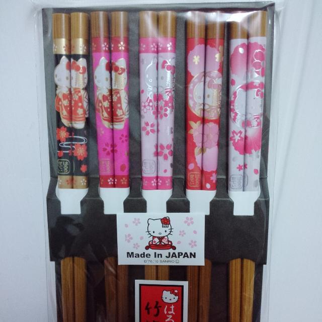 Kitty京都日製竹筷
