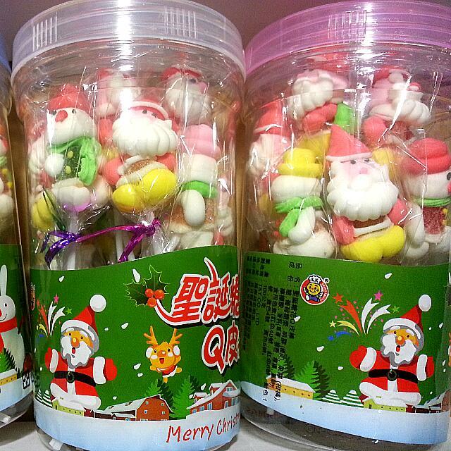 聖誕Q皮棒棒糖