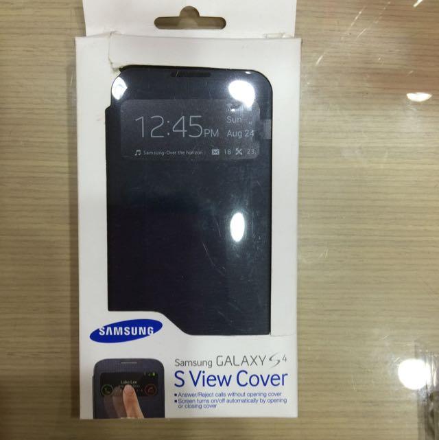 Samsung Galaxy S4 原廠側翻殼/側掀套