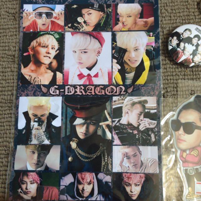 Taeyang, BTS, GOT7, Jaejoong, BOBBY, BLOCK B goods, K-Wave