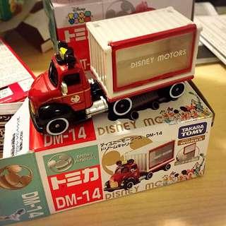 Tomica 日本多美  👑米奇小聯結車 限量一台👑