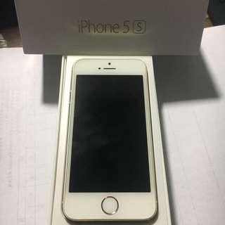 iPhone5s 16G 金色