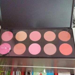 10 Blush Palette Brand New