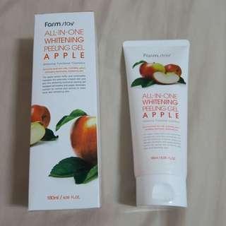Farmstay 植物莊園蘋果去角質凝膠 180ml