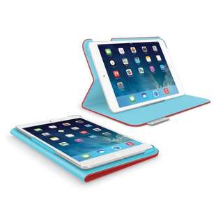 iPad Air Cover BNIP - Rare Logitech Red And Vintage Blue