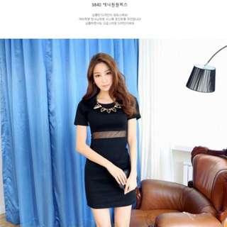 PO Korea Dress *Free size*